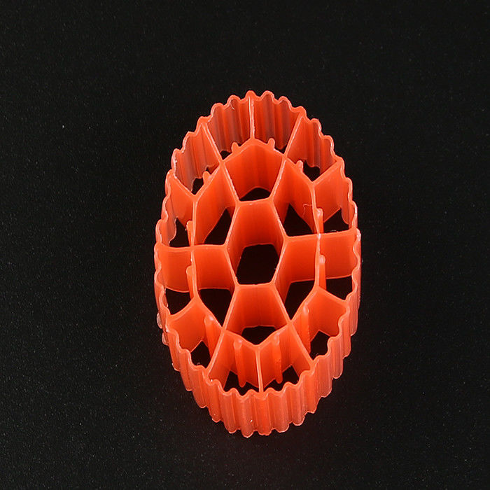 19 Holes K3 Biocell Filter Media With Virgin HDPE Material And White Color